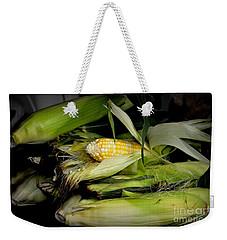 Organic Corn Weekender Tote Bag