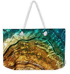 Organic Flow Weekender Tote Bag