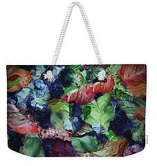 Organic Impressions 7 Weekender Tote Bag