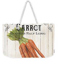 Organic Seed Packet 2 Weekender Tote Bag by Debbie DeWitt