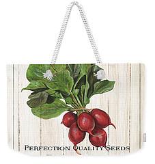 Organic Seed Packet 3 Weekender Tote Bag by Debbie DeWitt