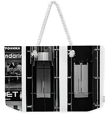 Weekender Tote Bag featuring the photograph Organics In The Machine by John Williams