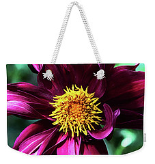 Weekender Tote Bag featuring the photograph Organized But Messy by Jessica Manelis