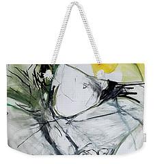 Organza Collar Weekender Tote Bag