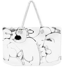 Orgy 1 Weekender Tote Bag