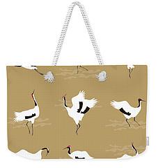 Oriental Cranes Weekender Tote Bag