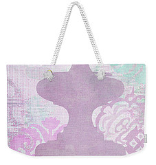 Oriental Far East Design Purple Weekender Tote Bag by Suzanne Powers