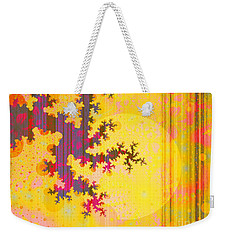 Oriental Moon Behind My Courtain Weekender Tote Bag