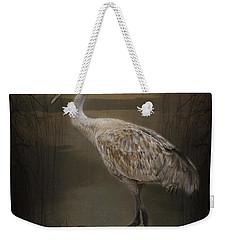 Oriental Sandhill Crane Weekender Tote Bag