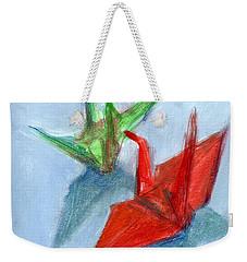 Origami Cranes Weekender Tote Bag