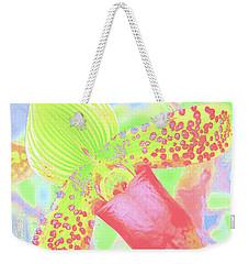 Original Green Orchid Weekender Tote Bag