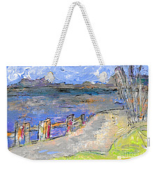 Asheville And The French Broad River Weekender Tote Bag