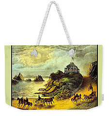 Original San Francisco Cliff House Circa 1865 Weekender Tote Bag