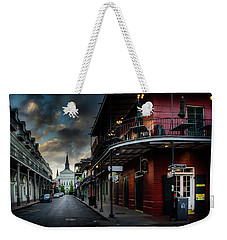 Orleans Street To St Louis Cathedral Weekender Tote Bag
