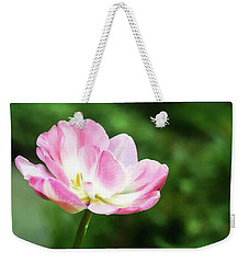 Weekender Tote Bag featuring the photograph Ornament Of Spring by Jessica Manelis