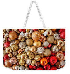 Ornament Wreath Weekender Tote Bag