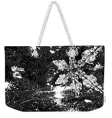 Weekender Tote Bag featuring the photograph Ornamental Snowflake by Robert Knight