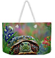 Ornate Box Turtle Weekender Tote Bag