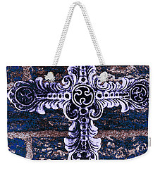 Ornate Cross 2 Weekender Tote Bag by Angelina Vick