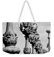Ornate Paris Street Lamp Weekender Tote Bag