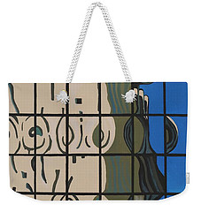 Osborn Reflections Weekender Tote Bag by Alika Kumar