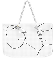 Oscar And Luther Weekender Tote Bag