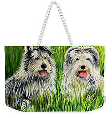 Oskar And Reggie Weekender Tote Bag