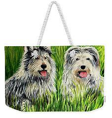 Oskar And Reggie Weekender Tote Bag