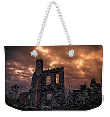 Weekender Tote Bag featuring the photograph Osler Castle by Michaela Preston