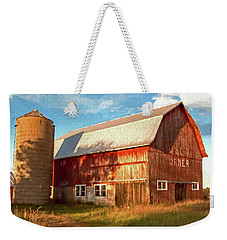 Oslo Corner Weekender Tote Bag by Trey Foerster