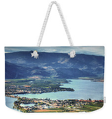 Osoyoos Lake 2 Weekender Tote Bag by Tara Turner