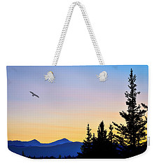 Osprey Against The Sunset Weekender Tote Bag