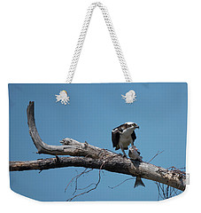 Osprey And Fish Weekender Tote Bag