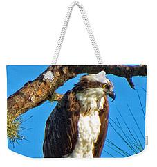 Osprey In Pine Weekender Tote Bag