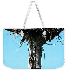 Osprey Point Weekender Tote Bag by Karen Wiles