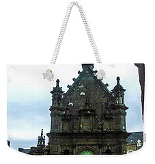 Ossuary Of St Thegonnec Weekender Tote Bag by Helen Northcott