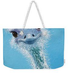 Ostrich Painting Weekender Tote Bag