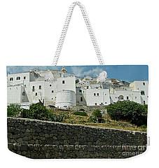 Ostuni, Puglia Weekender Tote Bag