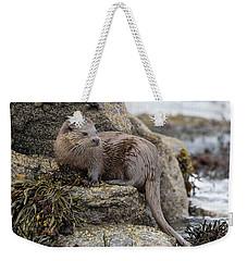 Otter Beside Loch Weekender Tote Bag