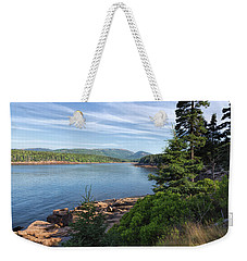 Weekender Tote Bag featuring the photograph Otter Cove by John M Bailey
