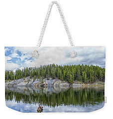 Otter Creek Reflection Weekender Tote Bag