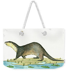 Otter Weekender Tote Bag