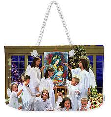 Our 2017 Christmas Angels Weekender Tote Bag