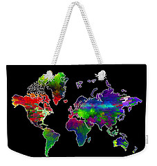 Our Colorful World Weekender Tote Bag