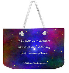 Our Destiny Weekender Tote Bag