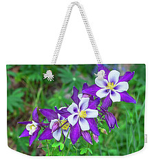 Our Gorgeous State Flower, Colorado Columbine  Weekender Tote Bag