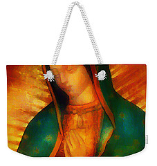 Our Lady Of Guadalupe Weekender Tote Bag by Bill Cannon