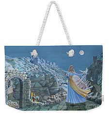 Our Lady Queen Of Peace Weekender Tote Bag