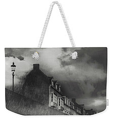 Weekender Tote Bag featuring the photograph Our Lady Wall Maastricht by Nop Briex