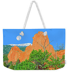 Our Majestic, Opalescent Colorado, Like No Other Place On Earth Weekender Tote Bag by Bijan Pirnia